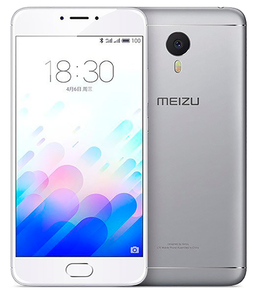Смартфон Meizu M5 Note 16Gb Silver